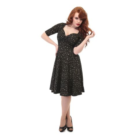 Collectif mainline trixie atomic star doll dress collectif mainline from collectif uk