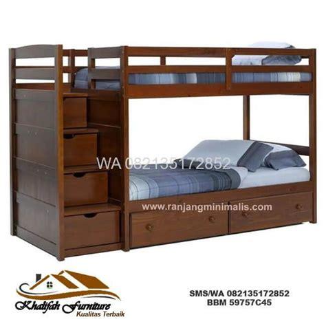 Ranjang Tingkat Minimalis jual ranjang tingkat minimalis harga murah cv khalifah furniture cv khalifah furniture