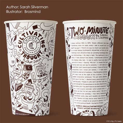 Cultivating Thought Student Essay Contest by Chipotle S Cultivating Thought By Printings Essays And On Cups And Bags If It S Hip It S