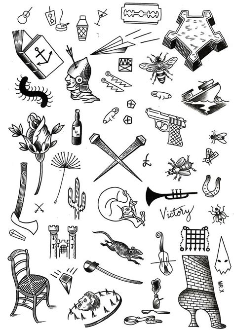 small tattoo flash the 8 best small flash images on