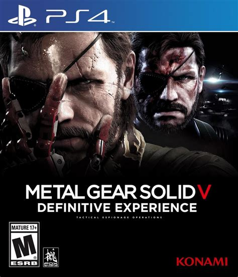 Ps4 Metal Gear Solid V Definitive Experience metal gear solid 5 definitive experience uscir 224 a ottobre
