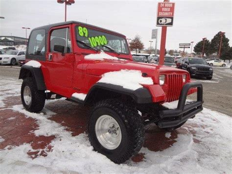 Deery Jeep Used 1989 Jeep Wrangler For Sale Carsforsale
