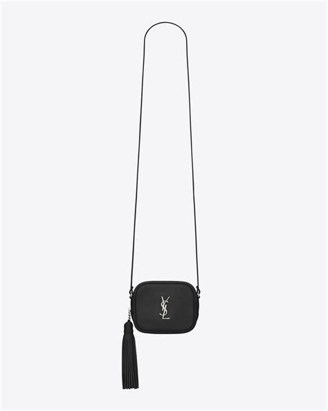 blogger ysl saint laurent monogram saint laurent blogger bag in black