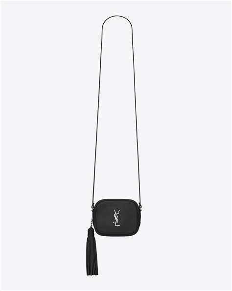 saint laurent monogram saint laurent blogger bag  black