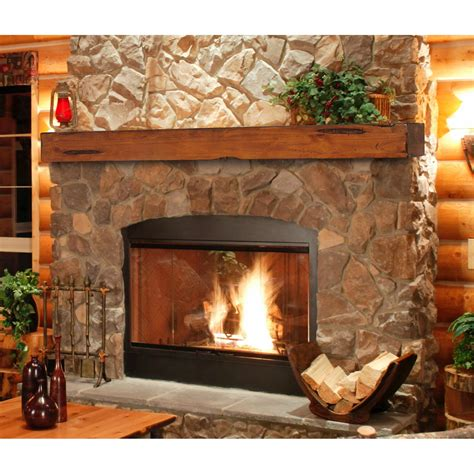 Wood Mantels For Fireplace by Pearl Mantels Shenandoah Traditional Fireplace Mantel