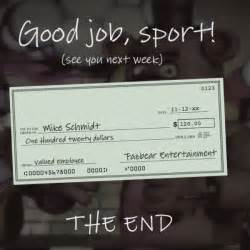 Mike schmidt cheque png