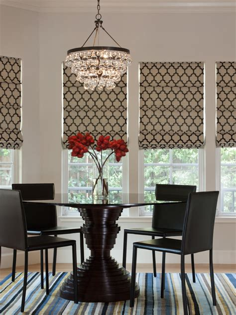rectangular shade chandelier dining room contemporary with