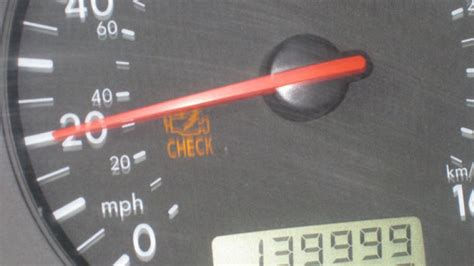 Blinking Check Engine Light by How To Reset The Check Engine Light Cars One