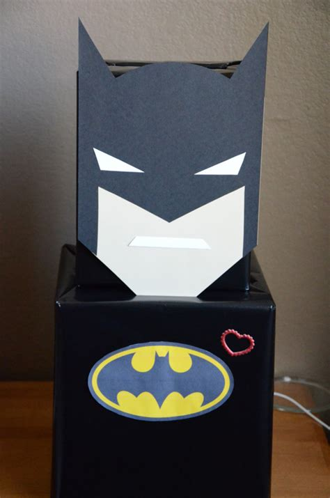 batman valentines day box 29 adorable diy box ideas pretty my