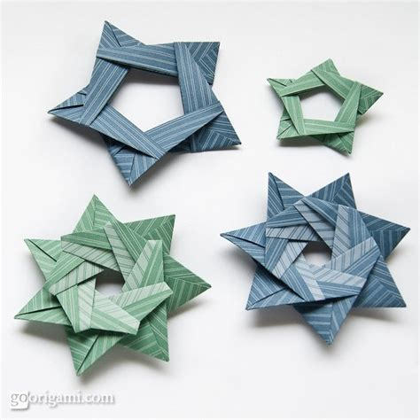 5 Pointed Origami - etoile pliage origami origami day chaque jour