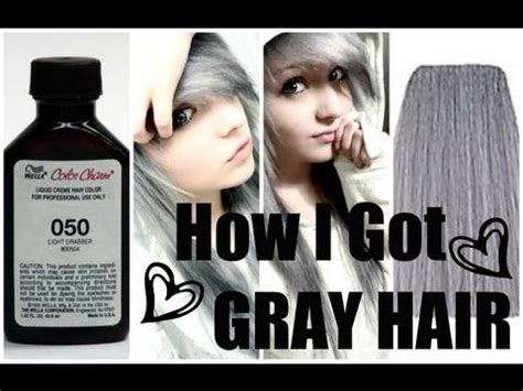 cooling violet toner wella on gray hair wella color charm liquid permanent hair color 050 cooling