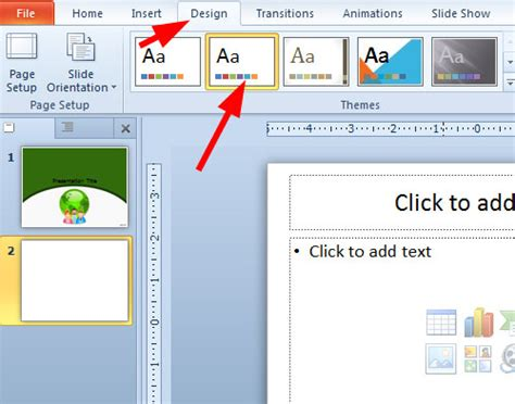 How To Revert To A Blank Template In Powerpoint Microsoft Office Powerpoint Templates 2010 Free