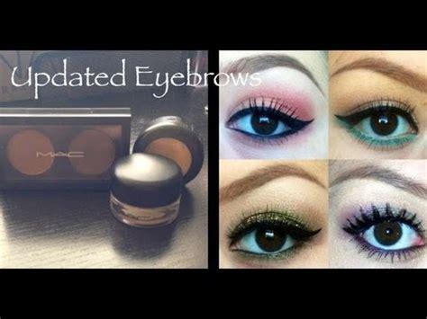 Mac Eyebrow Gel how to fill in your eyebrows using mac fluidline brow gel