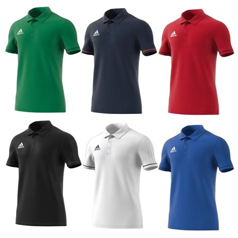 Polo Shirt Adidas 17 adidas tiro 17 cotton polo shirt premier teamwear