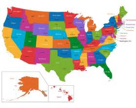 Map Of Usa With States Usa Map Blank Political United States Map With Cities