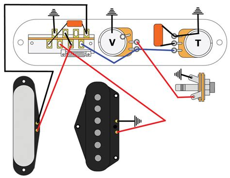 mod garage the bill 5 way telecaster circuit