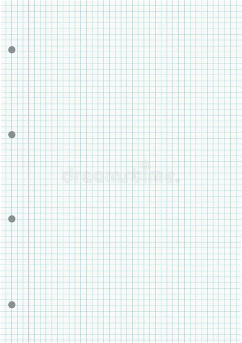 pattern photoshop quadretti notebook gridded sheet background stock vector