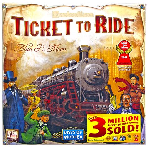 ticket to ride around b01dydfx7e ticket to ride board game ebay