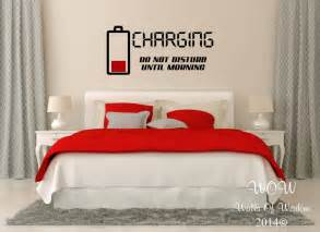 Teenage Wall Stickers Uk children teenager adult bedroom wall stickers wall art charging do not