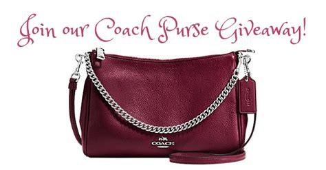 Purse Giveaway 2016 - win a coach crossbody purse us 10 28 handbaglove