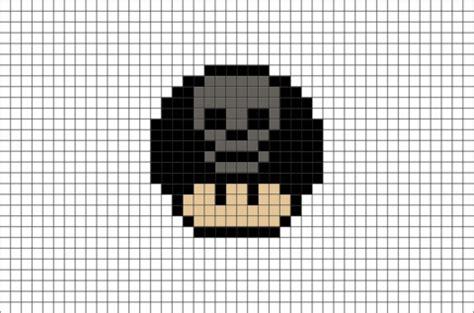 halloween mario mushroom pixel art – brik