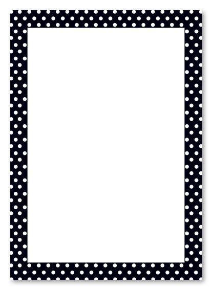 printable polka dot border paper polka dot border clip art kids birthday invitations