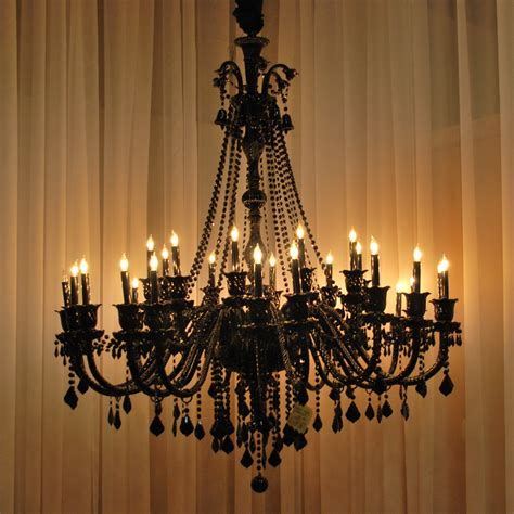Large Black Crystal Chandelier Home Design Ideas Large Black Chandelier