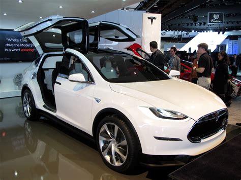 Tesla Model X Release Tesla Motors Inc Excited Wall As New Model X