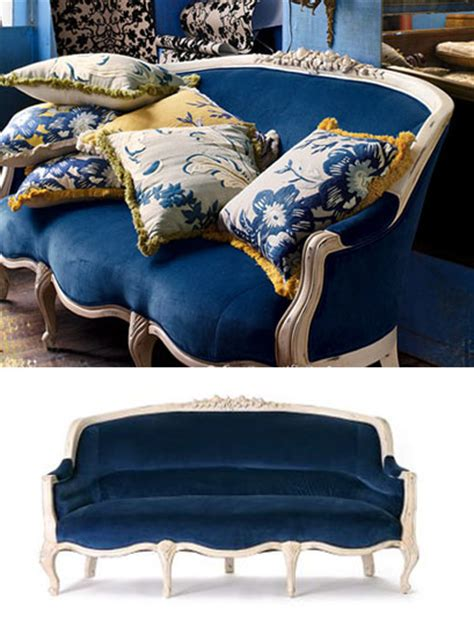 blue velvet couch anthropologie nice and new amelie sofa at anthropologie popsugar home