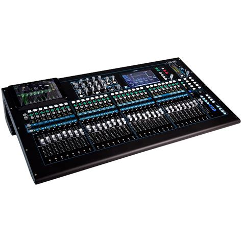 Mixer Allen Heath 8 Chanel allen and heath qu 32c digital mixer 32 channel zzounds reverb