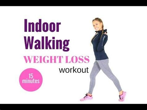 home workout 15 minute walking workout for weight loss