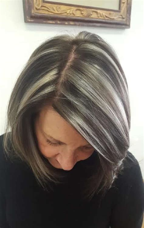 highlights hair over 50 highlights hair 50 tagli capelli medi autunno inverno
