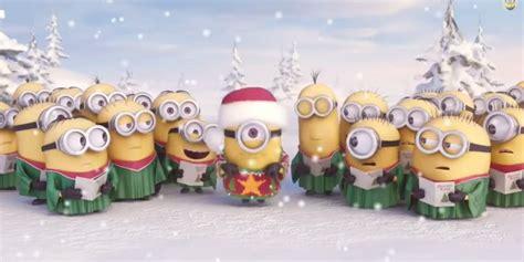 imagenes minions en navidad el mejor villancico de esta navidad te lo cantan los