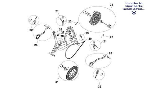 schwinn airdyne parts diagram schwinn airdyne cycling parts fitness exercise bike