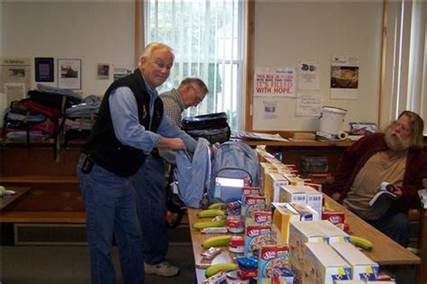 Guilford County Food Pantry by Dover Foxcroft Kiwanis International