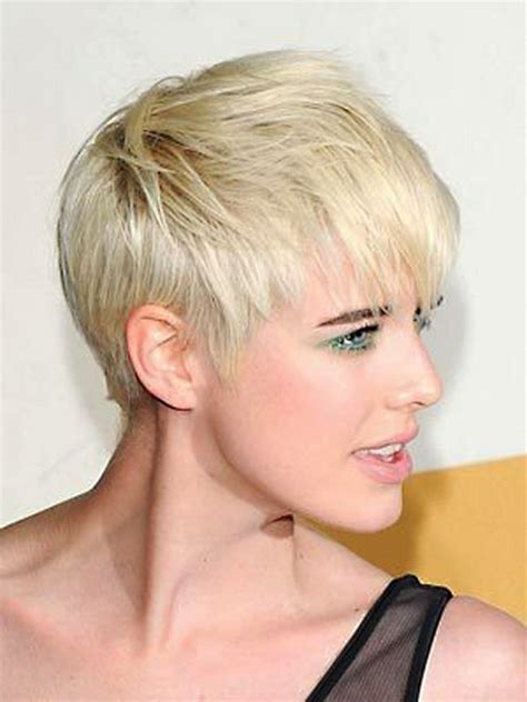 2012 trendy women hairstyles blonde most popular short haircuts for women