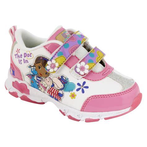 disney light up shoes toddler s doc mcstuffins light up athletic shoe