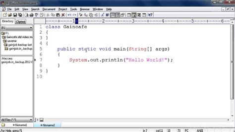 java pattern find exle pattern java find your first java program java tutorial