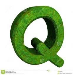 3d Bathroom Design Software 3d Letter Q In Green Grass Royalty Free Stock Photography