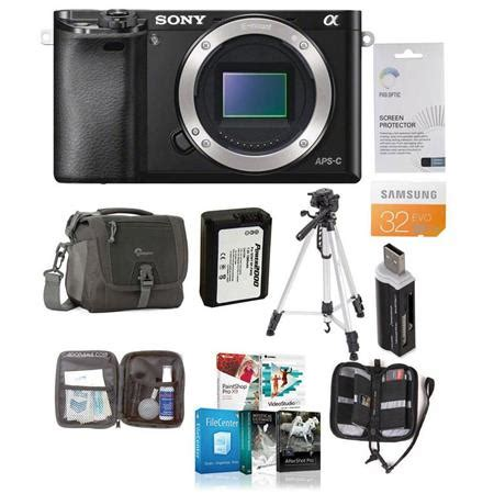 deals black friday on sony alpha a6000 mirrorless digital