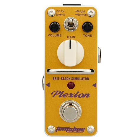 Efek Gitar Distorsi Murah aroma pedal efek gitar distorsi apn 3 plexion yellow