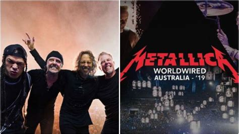 metallica june 2019 yep that metallica 2019 australian tour poster is fake