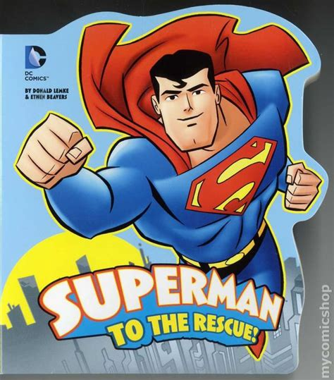 dc adoption superman to the rescue hc 2013 dc comics board book comic books