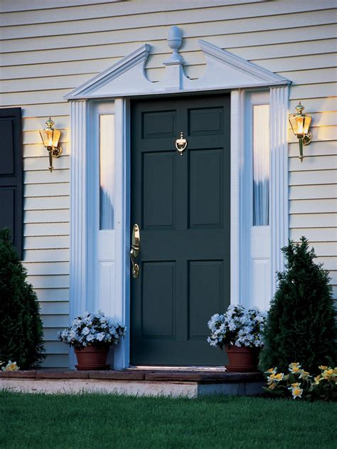 Fitting A Front Door Install A New Front Door Hgtv