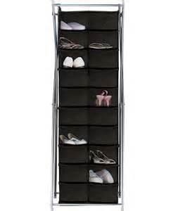 canvas shoe storage unit silver x frame canvas 20 pocket shoe storage unit black