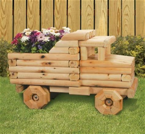 Landscape Timbers Tsc Tractor Flower Planter Plans Woodworking Projects Plans