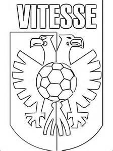 sbv vitesse logo kleurplaat gratis kleurplaten