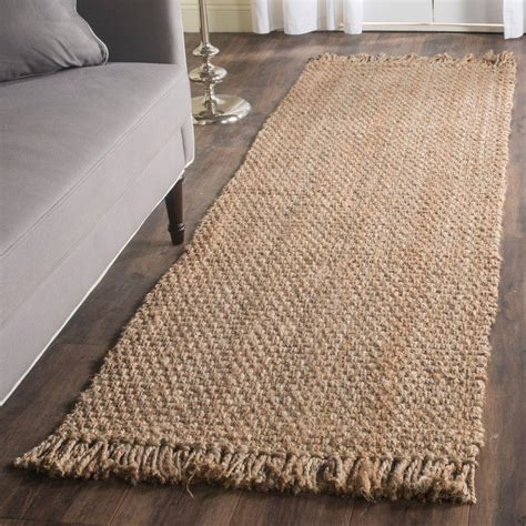 Beige Runner Rug Safavieh Fiber Beige 2 Ft 6 In X 8 Ft Runner Rug Nf467a 28 The Home Depot