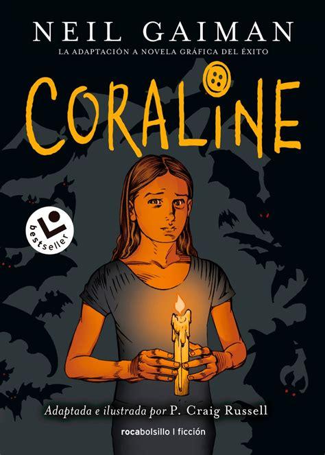 coraline novela grafica coraline novela gr 225 fica neil gaiman 450 00 en mercado libre
