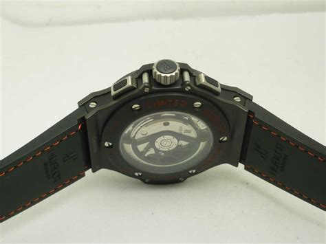 Hublot Bigbang Black White Brown Leather replica hublot big magic 7750 leather spot on replica watches and reviews
